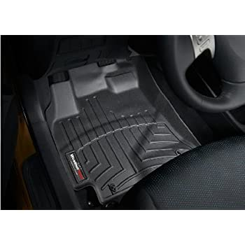 2009 2013 toyota corolla black weathertech floor liners full set automotive. Black Bedroom Furniture Sets. Home Design Ideas