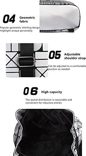 MATAGA - Bolso mochila  de poliuretano para mujer blanco