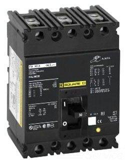 SCHNEIDER ELECTRIC 600-VOLT 50-AMP FAL36050 Molded CASE Circuit Breaker 600V 50A