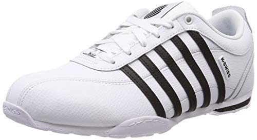 1 white 5 silver 164 K black swiss Arvee Blanc Basses Sneakers Homme white EqAfaAxgw