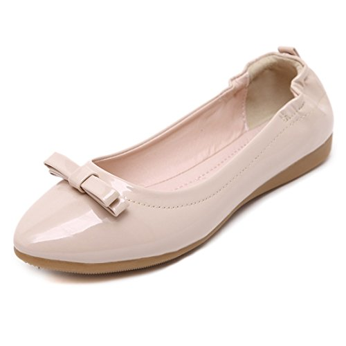 Womens Classic Casual Flats - Zachte Slip-on-schoenen - Comfortabel Schoeisel 819-1 Zwart