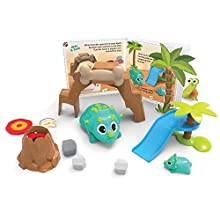Learning Resources Coding Critters Rumble & Bumble, Interactive Coding Toy, 23 Piece Set, Ages 4+