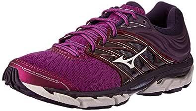 Mizuno Australia Women's Wave Paradox 5 Running Shoes, Purple Wine/Silver/Mysterioso, 6.5 US