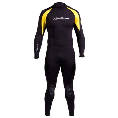 Neo Sport X-Span 3/2mm Men's Jumpsuit - Black/Yellow - Large