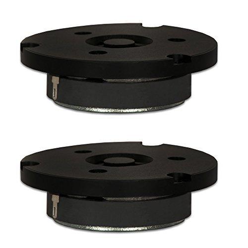 Goldwood Sound, Inc. Sound Module, Black Soft Dome Tweeters 100 Watt each 8ohm Replacement Round 2 Tweeter Pack (GT-316-2) by Goldwood Sound, Inc.
