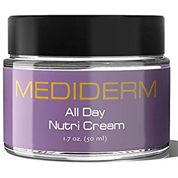 Mediderm Hydra All Day Nutri Protection Moisturizer Cream - Best Anti Aging Treatment for Men and Women, Safe for All Skin Types and Paraben Free