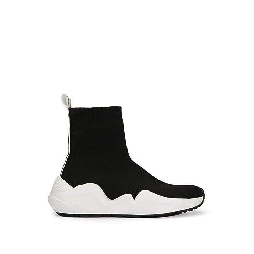 Kenneth Cole New York Women's Maddox Stretch Knit Fashion Sneaker, Black 8 M US
