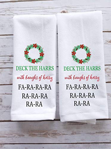Jingles /& Joy Christmas Llamas Holiday Kitchen Towel Set