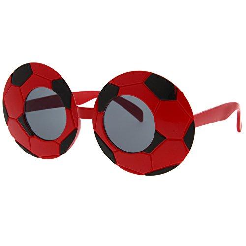 grinderPUNCH Soccer Ball Sunglasses Fun Novelty Party Costume Football - Sunglasses Soccer