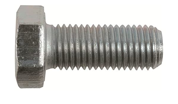 M6-1.0 x 80mm Metric Hex Bolt Zinc Plated Grade 10.9 Cap Screw Qty 25