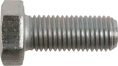 M10-1.50 x 16mm Hex Head Cap Screws, Steel Metric Class 10.9, Zinc Plating (Quantity: 100 pcs) - Coarse Thread Metric, Fully Threaded, Length: 16mm Metric, Thread Size: M10 Metric