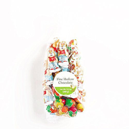 Riegelein Easter Chocolate Bunnies and Eggs Bag 9.2 oz each (1 Item Per Order, not per case)