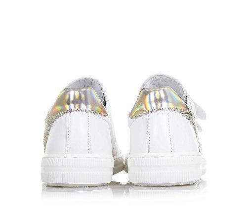 CIAO BIMBI - Zapato blanco, de cuero, la atención a cada detalle, Niña, Chica, Mujer Blanco