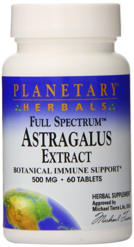 Планетарные Herbals Full Spectrum Астрагал экстракт таблетки, 60 граф