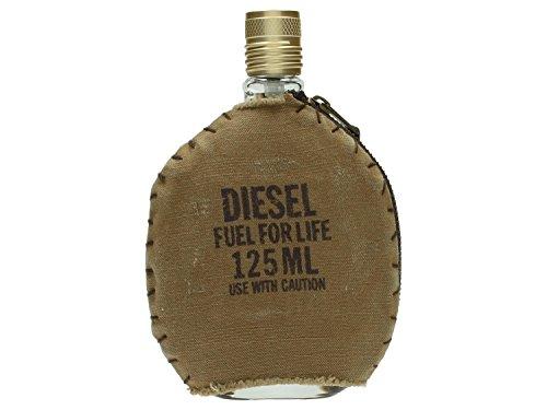 Italian Leather Corner (Diesel Fuel for Life Eau de Toilette Spray for Men, 4.2 Ounce)