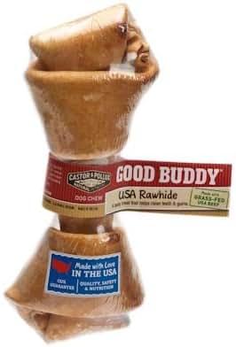 Dog Treats: Good Buddy Rawhide Bone
