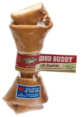 [Castor & Pollux Good Buddy USA Rawhide Bone, One 4-5 Inch Bone (Pack of 8)] (Pollux Rawhide)