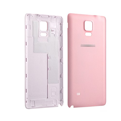 best sneakers 9c9fd e5b61 Back Battery Cover Rear Door Housing for Galaxy Note 4 - Pink - LTE N910  N910T [Non-retail Packaging]