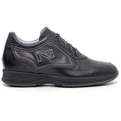 Nero Giardini - Zapatillas para hombre Gris negro