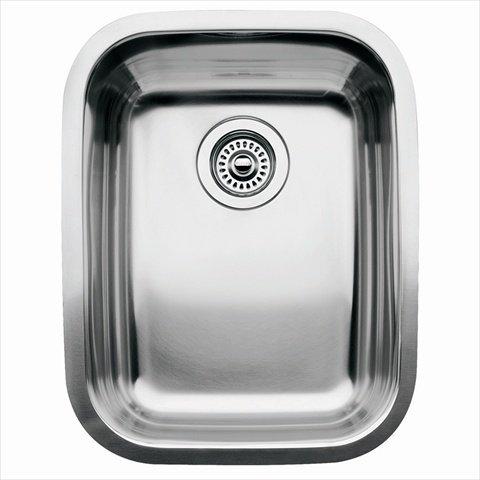 Blanco America 440247 Supreme Undermount Stainless Steel Single Bowl Kitchen - Group Sink Undermount Stainless Steel
