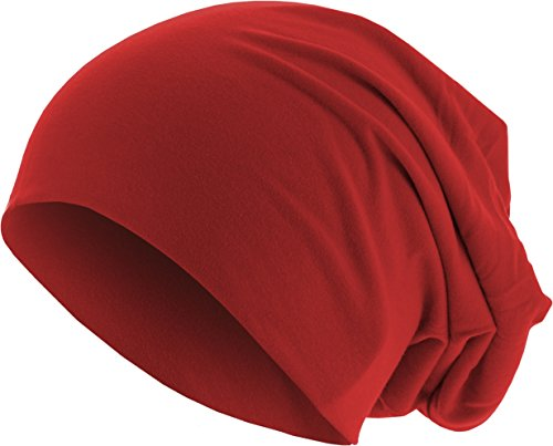 3826 Punto de Gorros Rot para red Jersey MSTRDS Hombre Beanie THp6z