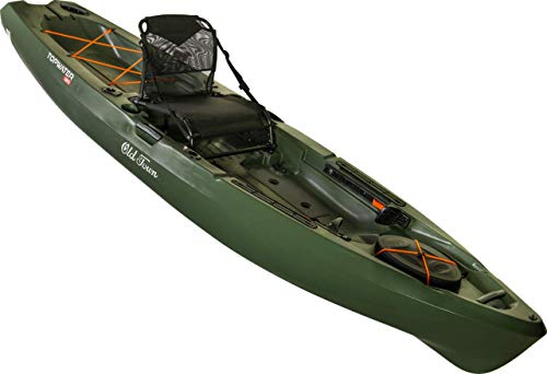 Old Town Topwater 120 Angler Fishing Kayak (Olive, 12 Feet)