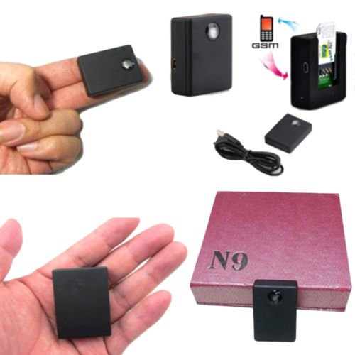SM SIM Card N9 2-Way Auto Answer & Dial Audio Voice Monitor Camera DV ()
