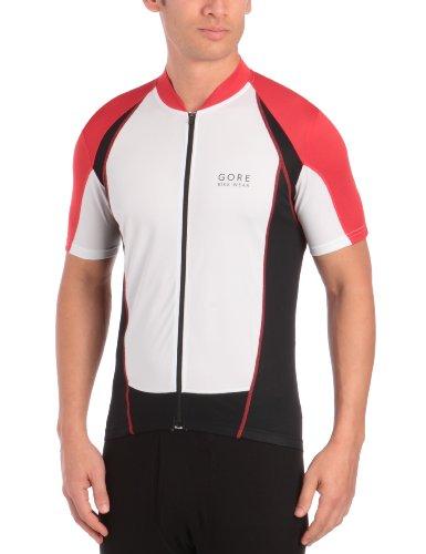 Gore Bike Wear® Maillot Contest Fz Manches courtes homme Rouge/Blanc/Noir L