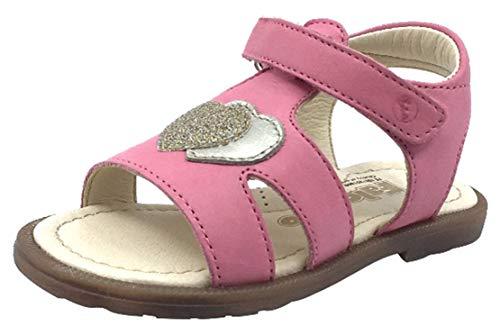 - Naturino Falcotto Girl's Puppet Open Toe Sandals (Corallo, 23 M EU/6.5 M US Toddler)
