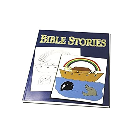 Amazon.com: Bible Stories Magic Coloring Book - Magic Trick with ...