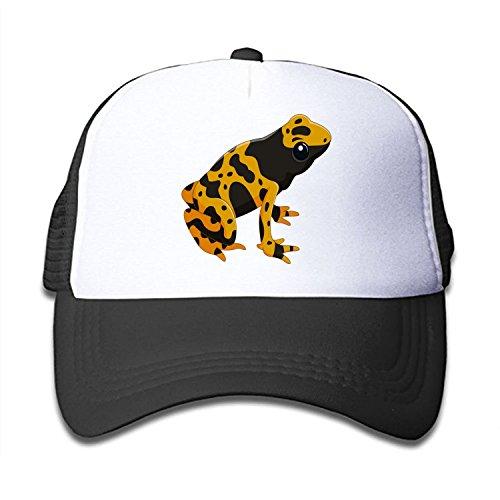 Mesh Cap Poison-Dart-Frog Trucker Hats Baseball caps Adjustable for Kids Toddler