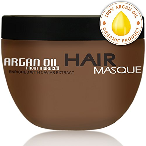 Argan Oil Hair Mask - Deep Conditioner Sulfate Free for Dry