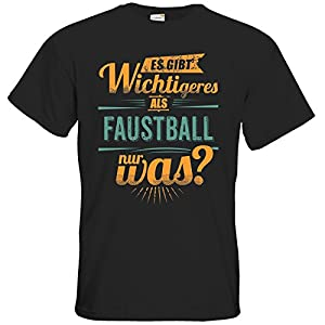 getshirts - RAHMENLOS® Geschenke - T-Shirt - Sportart Faustball - es gibt...