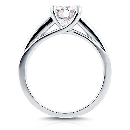 Forever classique et diamant en or 9carats 11/2carat (ctw) en or blanc 14K _ 7.0