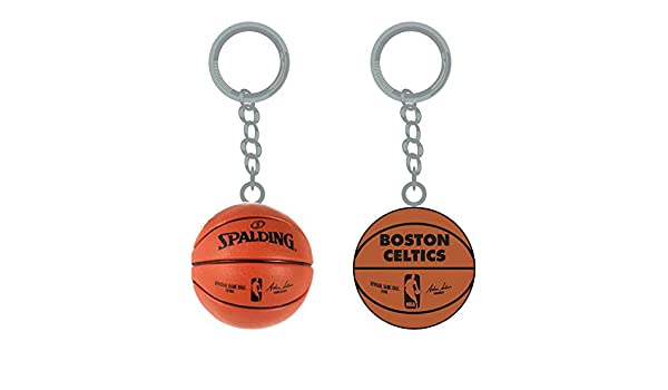 PSG INC NBA Boston Celtics - Llaveros de Baloncesto con Logo de ...