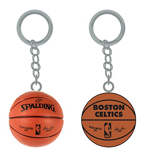 PSG INC NBA Boston Celtics Sports Team Logo Mini Basketball Keychains