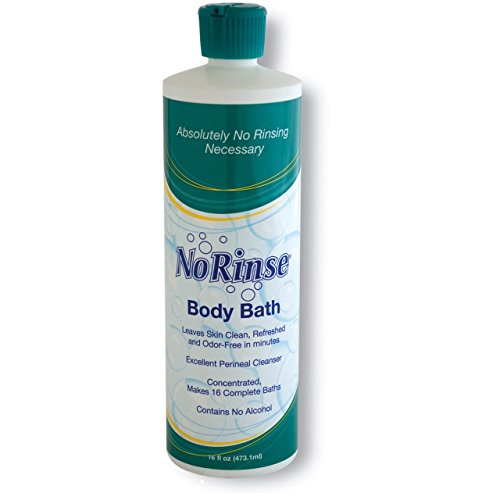 Rinse Free Soap - No Rinse Body Bath - 16 fl oz
