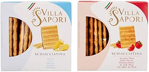 Villa Sapori Pan Crujiente Italiano Surtido | Schiacciatina Caja ...