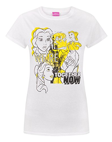 Disney Beauty And The Beast Belle Together Women's T-Shirt