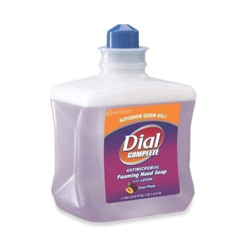 (Henkel Dial Complete Refill Cartridge - Plum Scent - 1L - Hypoallergenic, Antimicrobial, Antibacterial - Purple - 1 /)