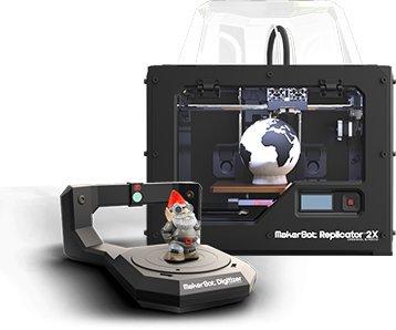 MakerBot Replicator 2X & MakerBot Digitizer