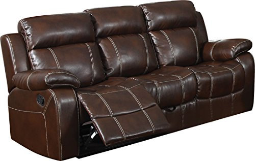 - Myleene Motion Sofa with Pillow Arms Chesnut