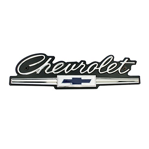 KNS Accessories KC4528 Standard Front Grill Emblem for Impala, Bel Air, Biscayne, Caprice (1966 Chevrolet)