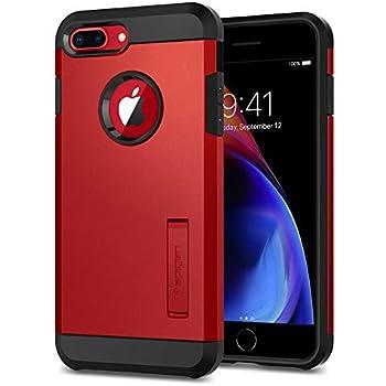 Spigen Tough Armor [2nd Generation] Designed for iPhone 8 Plus Case/iPhone 7 Plus Case (2018) - Red
