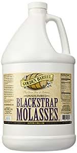 Golden Barrel Bulk Unsulfured Blackstrap Molasses Jug (128 fl oz)
