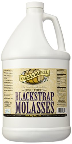Golden Barrel Bulk Unsulfured Blackstrap Molasses Jug  128 Fl Oz