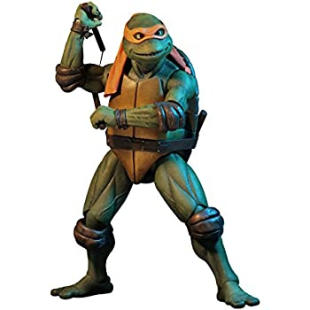 NECA - Teenage Mutant Ninja Turtles (1990 Movie) - 1/4 scale action figure - Michelangelo