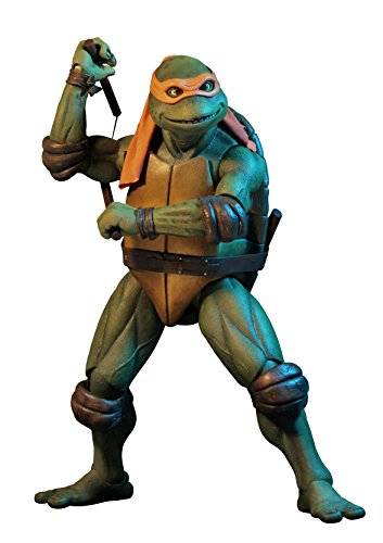 NECA - Teenage Mutant Ninja Turtles (1990 Movie) - 1/4 scale action figure - - Toy 1990's