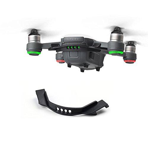 Rantow Clip de boucle de batterie anti-lâche pour DJI Spark Drone Support de protecteur de support fixe de batterie antidéflagrante (Black)