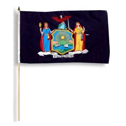 New York Flag 12 x 18 inch - Store York New Flag